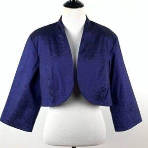 Dress barn collection evening jacket 18 bolo shrug